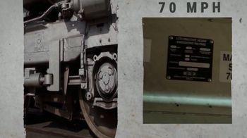 Union Pacific Railroad TV Spot, 'The George Bush Locomotive' - Thumbnail 7