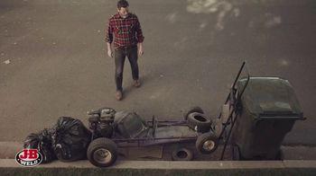 J-B Weld TV Spot, 'Go-Kart: When Strength Really Matters' Featuring Nick Offerman - Thumbnail 1