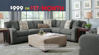 Rooms to Go Memorial Day Sale TV Spot, 'Two-Piece Sectional' - Thumbnail 7