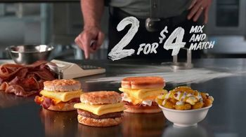 Hardee's 2 for $4 Mix and Match TV Spot, 'Calculator' - Thumbnail 6
