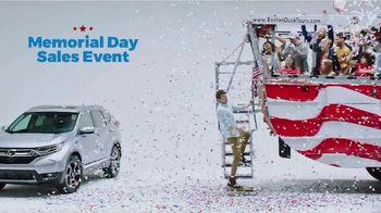 Honda Memorial Day Sales Event TV Spot, 'How We Roll' [T2] - Thumbnail 2