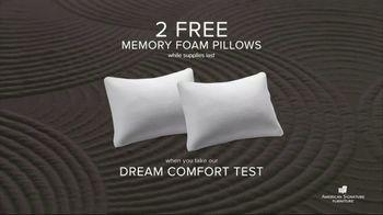 American Signature Furniture Memorial Day Sale TV Spot, 'Dream Mattress Studio' - Thumbnail 5