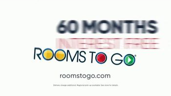 Rooms to Go Memorial Day Sale TV Spot, 'Six Piece Reclining Sectional' - Thumbnail 7
