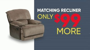 Rooms to Go Memorial Day Sale TV Spot, 'Six Piece Reclining Sectional' - Thumbnail 6
