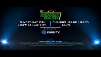 DIRECTV TV Spot, '2019 WWE: Money in the Bank' Featuring Mike