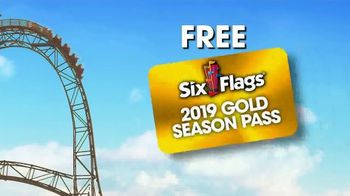 Six Flags Season Pass Sale TV Spot, 'Upgrade to Gold' - Thumbnail 6