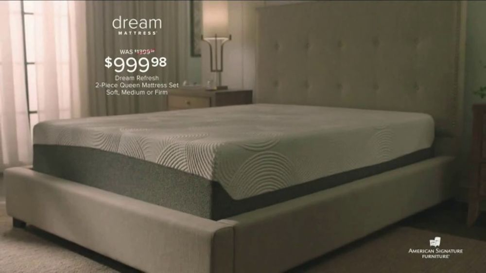 American Signature Furniture Dream Mattress Studio Tv Commercial