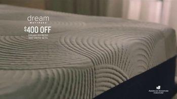 American Signature Furniture Dream Mattress Studio TV Spot, 'Mattress Sets' - Thumbnail 4