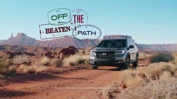 2019 Honda Passport TV Spot, 'Your Passport to Adventure' Song by Wolfmother [T1] - Thumbnail 2