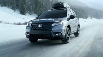 2019 Honda Passport TV Spot, 'Your Passport to Adventure' Song by Wolfmother [T1] - 3705 commercial airings