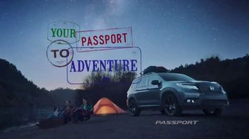 2019 Honda Passport TV Spot, 'Your Passport to Adventure' Song by Wolfmother [T1] - Thumbnail 8