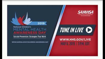 SAMHSA TV Spot, '2019 National Children's Mental Health Awareness Day' - Thumbnail 5