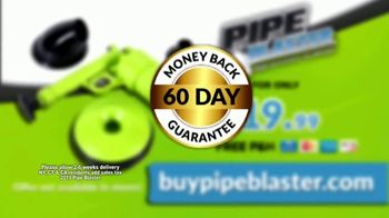 Pipe Blaster TV Spot, 'The Power of Pressurized Air' - Thumbnail 9