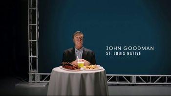 Explore St. Louis TV Spot, 'John Goodman in the Know: Food'