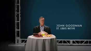 Explore St. Louis TV Spot, 'John Goodman in the Know: Food'