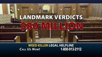 Weed Killer Legal Helpline TV Spot, 'Human Carcinogen' - Thumbnail 5