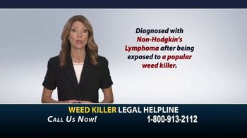 Weed Killer Legal Helpline TV Spot, 'Human Carcinogen' - Thumbnail 9
