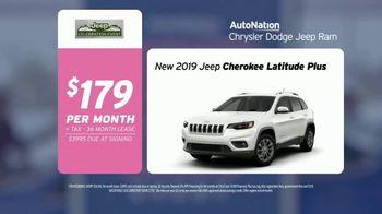 AutoNation Super Zero Event TV Spot, '2019 Jeep Cherokee Latitude: $179' - Thumbnail 7