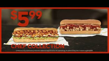 Subway $5.99 Chef Collection TV Spot, 'Saving Up for Golf Lessons' - Thumbnail 9