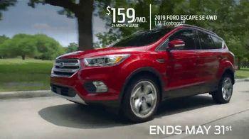 Ford Memorial Sales Event TV Spot, '2019 Escape' [T2] - Thumbnail 7