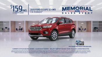 Ford Memorial Sales Event TV Spot, '2019 Escape' [T2] - Thumbnail 3