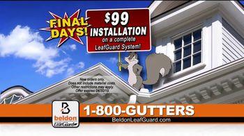 Beldon LeafGuard Home Improvement Days TV Spot, 'Patented Hangers' - Thumbnail 7