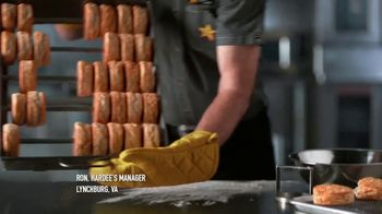 Hardee's 2 for $4 Mix and Match TV Spot, 'Abacus' - Thumbnail 2