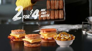 Hardee's 2 for $4 Mix and Match TV Spot, 'Abacus' - Thumbnail 8