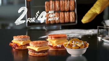 Hardee's 2 for $4 Mix and Match TV Spot, 'Abacus' - Thumbnail 9