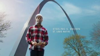 Explore St. Louis TV Spot, 'Sterling K. Brown in the Know: The Gateway Arch'