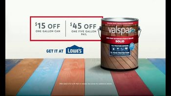 Valspar Stain TV Spot, 'Dare to Stain in Color' - Thumbnail 8
