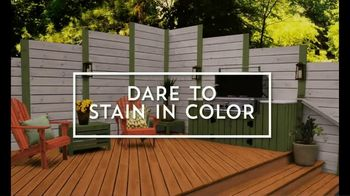 Valspar Stain TV Spot, 'Dare to Stain in Color' - Thumbnail 7