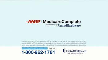UnitedHealthcare AARP MedicareComplete TV Spot, 'La red más grande' [Spanish]