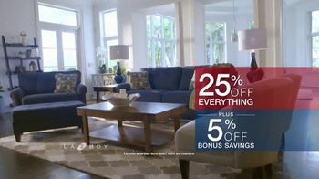 La-Z-Boy Memorial Day Sale TV Spot, 'Hassle-Free: Shop Early' - Thumbnail 6