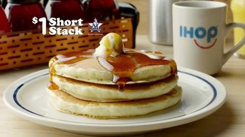 IHOP $1 Short Stack TV Spot, 'Tiny Flags'