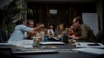 McDonald's + Uber Eats TV Spot, 'McDelivery Doorbell' Song by Della Reese - Thumbnail 10