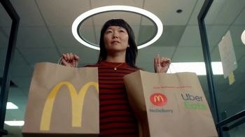 McDonald's + Uber Eats TV Spot, 'McDelivery Doorbell' Song by Della Reese