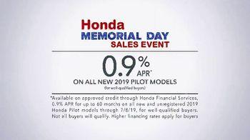 Honda Memorial Day Sales Event TV Spot, 'Kick Off Summer' [T2] - Thumbnail 7