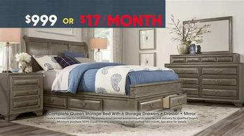 Rooms to Go Memorial Day Sale TV Spot, 'Storage Bed' - Thumbnail 4
