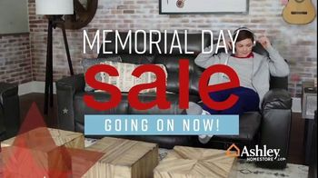 Ashley HomeStore Memorial Day Sale TV Spot, 'Summer's Hottest Deals: Recliners & Sectionals' Song by Midnight Riot