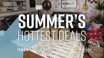 Ashley HomeStore Memorial Day Sale TV Spot, 'Summer's Hottest Deals: Recliners & Sectionals' Song by Midnight Riot - Thumbnail 4