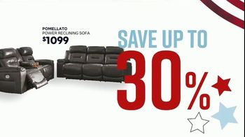 Ashley HomeStore Memorial Day Sale TV Spot, 'Summer's Hottest Deals: Recliners & Sectionals' Song by Midnight Riot - Thumbnail 5