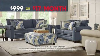 Rooms to Go Memorial Day Sale TV Spot, 'Three-Piece Living Room' - Thumbnail 3