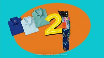JCPenney Double up & Stock up Sale TV Spot, 'Four Days Only: Shorts, Polos & Towels' - Thumbnail 7