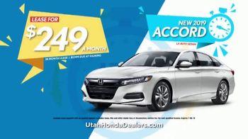 Honda TV Spot, 'Utah: It's Time' [T2] - Thumbnail 4