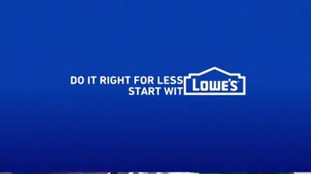 Lowe's TV Spot, 'Do Outdoors Right: Craftsman Trimmer & Bonnie Vegetables' - Thumbnail 9