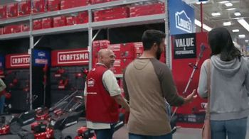 Lowe's TV Spot, 'Do Outdoors Right: Craftsman Trimmer & Bonnie Vegetables' - Thumbnail 2
