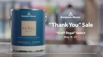 Benjamin Moore Thank You Sale TV Spot, 'From Our Family to Yours' - Thumbnail 8