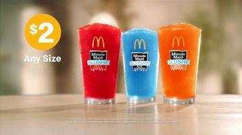 McDonald's $2 Any Size Iced Coffee or Slushie TV Spot, 'Refreshing Drinks' - Thumbnail 9