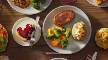 Outback Steakhouse Complete Steakhouse Dinner TV Spot, 'Your Choice'